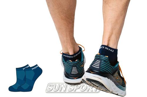 Носки комплект NordSki Run синий (фото, вид 2)