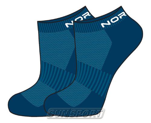 Носки комплект NordSki Run синий (фото, вид 3)