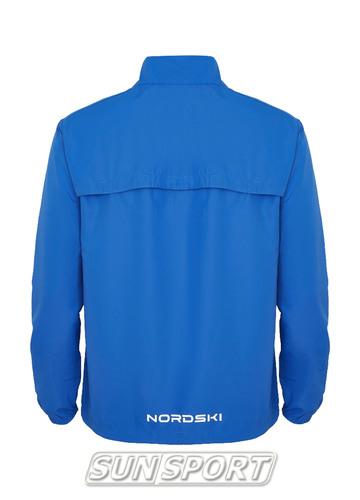 Куртка Тренировочная NordSki M Motion мужская васильковый (фото, вид 1)