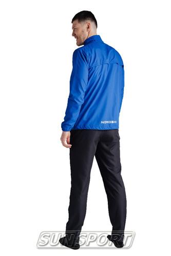 Куртка Тренировочная NordSki M Motion мужская васильковый (фото, вид 3)
