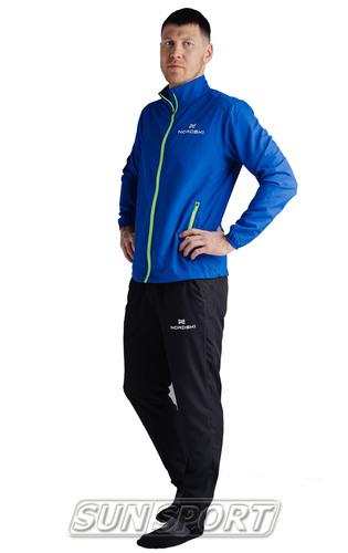 Куртка Тренировочная NordSki M Motion мужская васильковый (фото, вид 4)
