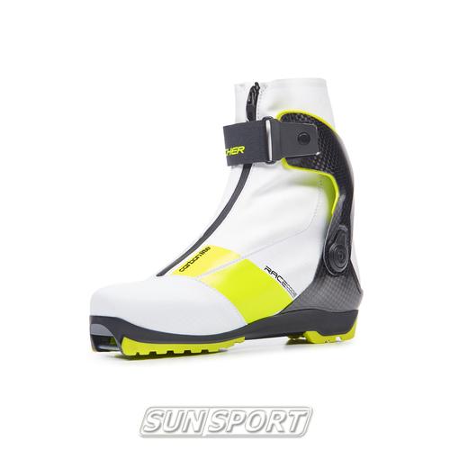 Ботинки лыжные Fischer Carbonlite Skate WS 20/21 (фото, вид 11)