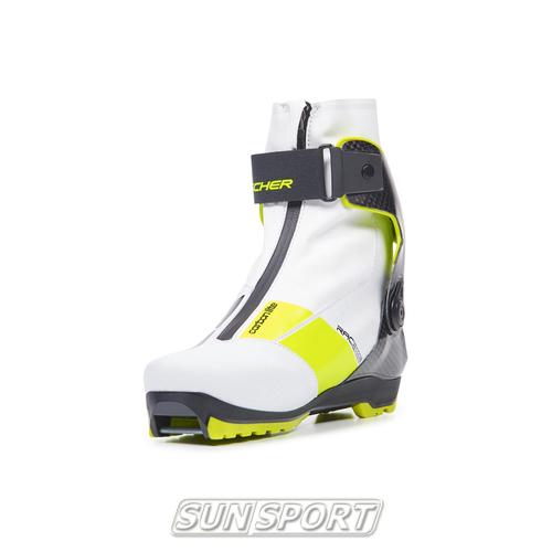 Ботинки лыжные Fischer Carbonlite Skate WS 20/21 (фото, вид 12)