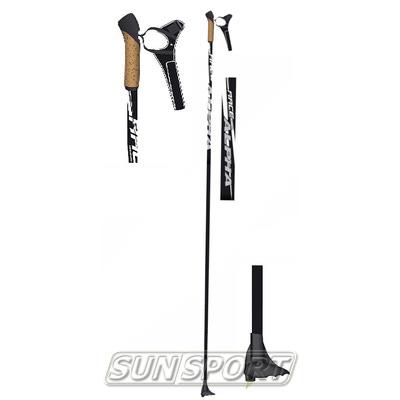 Палки лыжные Alpha Race (100% Carbon) (фото, вид 1)