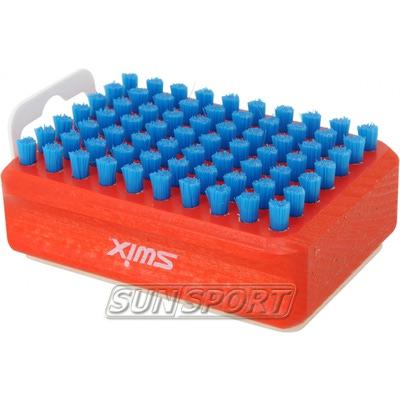 Щётка Swix Combi F4 нейлон/фетр (фото, вид 1)