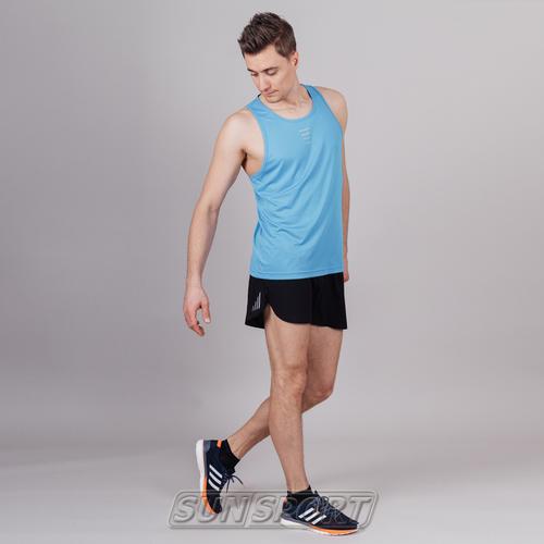 Майка NordSki M Run мужская Blue (фото, вид 1)