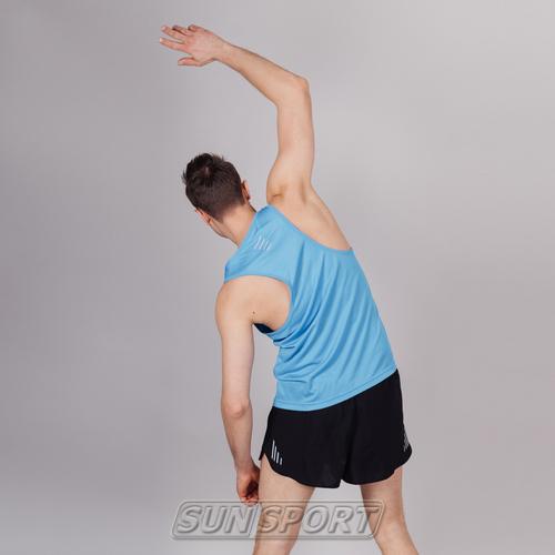 Майка NordSki M Run мужская Blue (фото, вид 2)