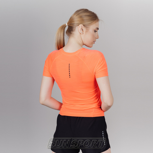 Футболка NordSki W Pro женская Coral (фото, вид 1)