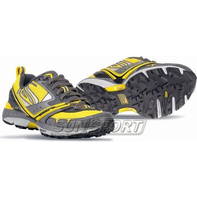 Кроссовки беговые Scott M Aztec Pro yellow/black (фото, вид 1)