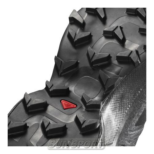 Кроссовки трейловые Salomon M SpeedCross 5 мужские черный (фото, вид 2)