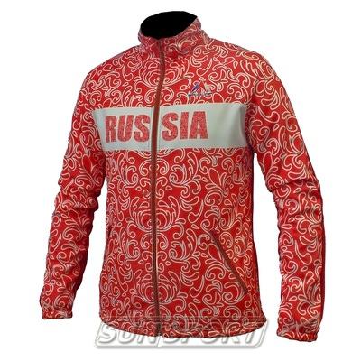 Разминочная куртка Sp-Olimp с орнаментом (фото, вид 1)