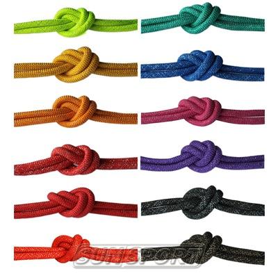 Скакалка для худ.гимнастики с люрексом d-10 (фото, вид 1)