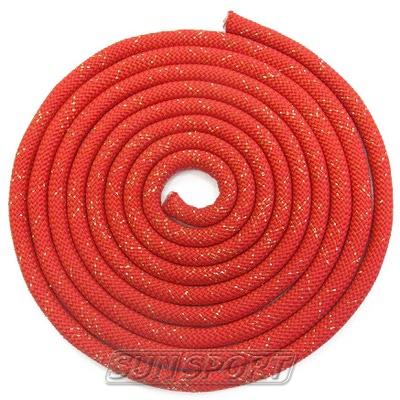 Скакалка для худ.гимнастики с люрексом d-10 (фото, вид 2)