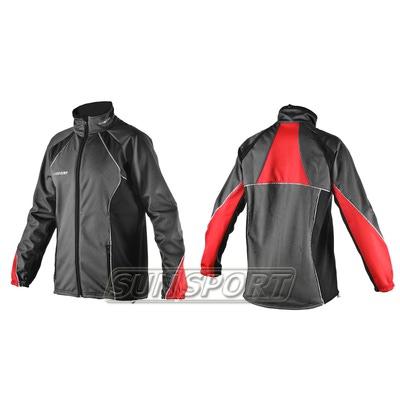 Разминочная куртка Sport365 WS черная (фото, вид 1)