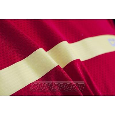 Футболка Craft M Joy Run мужская красн/желтый (фото, вид 2)