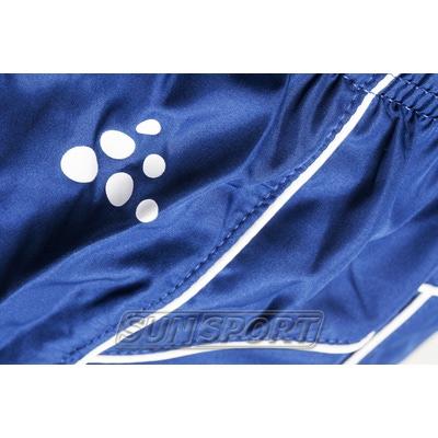 Шорты Craft M T&F Wind мужские синий (фото, вид 4)