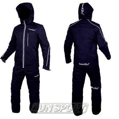 Утепленный костюм NordSki Active черный (фото, вид 2)