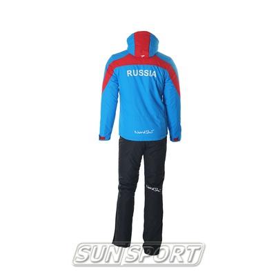 Утепленный костюм NordSki Active голубой (фото, вид 1)