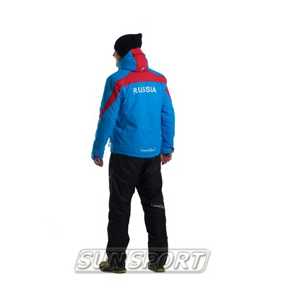 Утепленный костюм Nordski Active голубой (фото, вид 2)