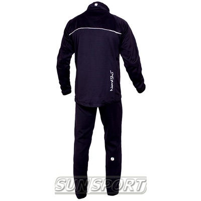 Разминочный костюм NordSki M SoftShell мужской чер/серый (фото, вид 1)