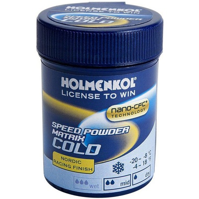 Порошок Holmenkol Matrix Speed Cold (-8-20) 30г