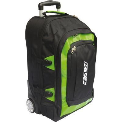 Рюкзак на колесах KV+ 30л зелен/черный