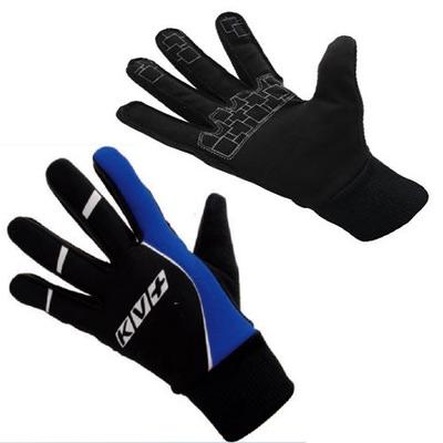 Перчатки KV+ XC Slide чёрн/синий