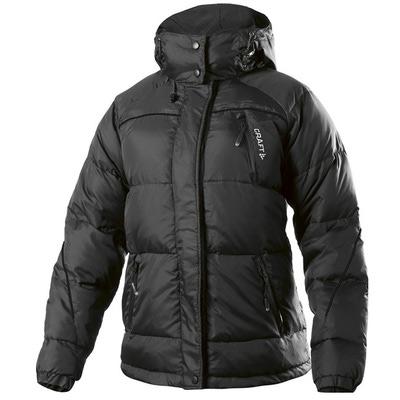 Куртка пуховик Craft Arch женский чёрный