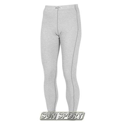 Термобелье Рейтузы Craft W Pro Wool женские серый