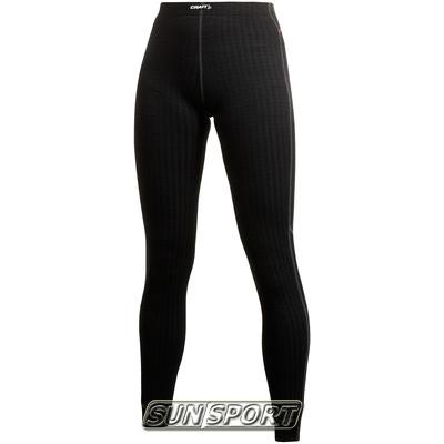 Термобелье Рейтузы Craft W Pro Wool женские чёрный