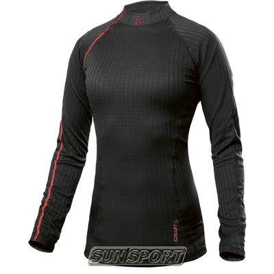 Термобелье Рубашка Craft W Pro Zero Extreme женская чёрный