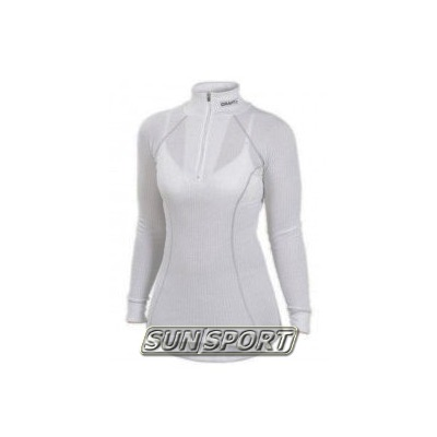 Термобелье Рубашка Craft W Pro Zero на молнии женская серый