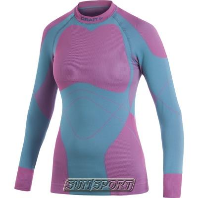 Термобелье Рубашка Craft W Warm женская мор.волна