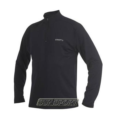 Термобелье Рубашка Craft M Active на молнии мужская чёрный