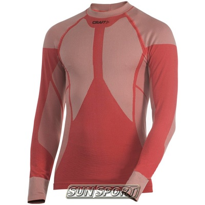 Термобелье Рубашка Craft M Pro Warm мужская красный