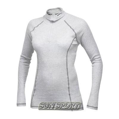 Термобелье Рубашка Craft W Pro Zero на молнии женская скуба