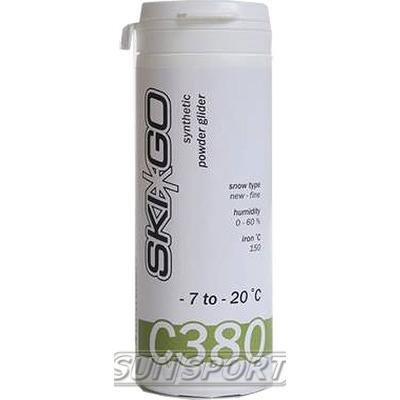 Порошок SkiGo C380 углеводород (-7-20) green 60г