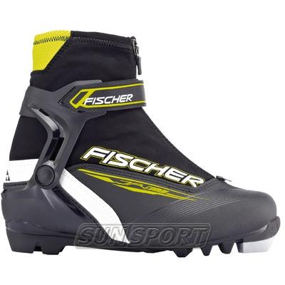 Ботинки лыжн. Fischer Junior COMBI