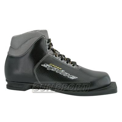 Ботинки лыжн. Spine Cross 75 мм (кожа) р.30-47
