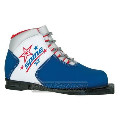 Ботинки лыжные Spine Kids 75мм (синт)