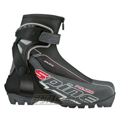 Ботинки лыжные Spine Polaris NNN чёрные