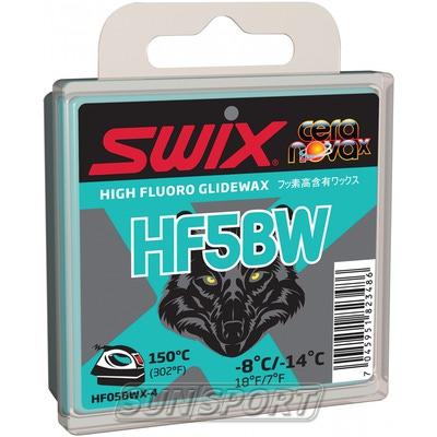 Парафин Swix HF BW05 Black (-8-14) blue 40г