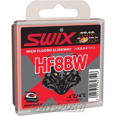 Парафин Swix HF BW08 Black (+4-4) red 40г