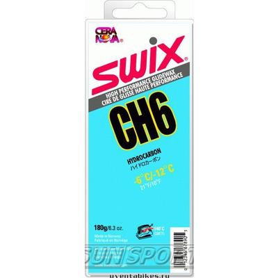 Парафин Swix CH06 (-6-12) blue 180г
