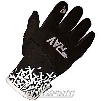 Перчатки RAY Race чёрные (фото)
