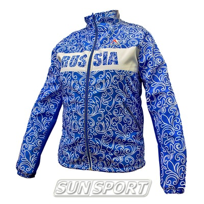 Разминочная куртка Sp-Olimp с орнаментом (фото)