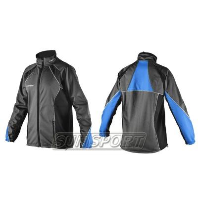 Разминочная куртка SunSport WS черная (фото)