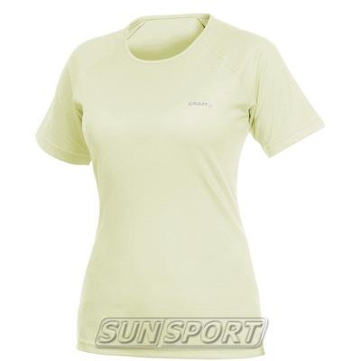 Футболка Craft W Active Run женская св.желтый