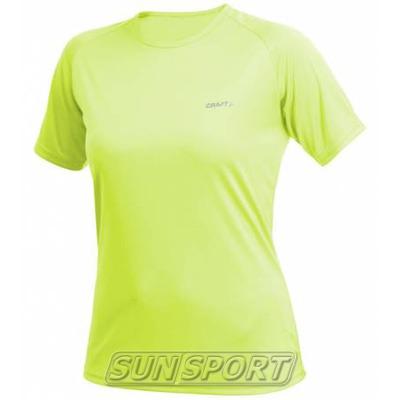 Футболка Craft W Active Run женская св.зеленый