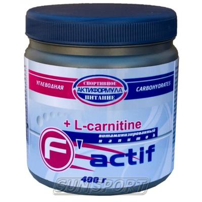 Спортивное питание Актиформула F-aktif +L-carnitine 400г